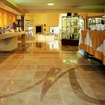 "16""x16"" Travertine Floor Tile"