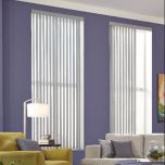 Vertical Vinyl Blind, by Graber