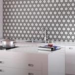 Carrara White Mosaics and Tiles