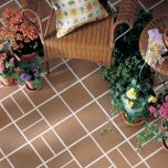 "Quarry Naturals Tile Floor, Desert N03, 8""x8"", by American Olean"