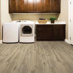 "COREtec one 6"" Plank, color Augustine Oak, Room Scene by US Floors"