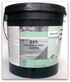 965 Flooring and Tread Adhesive, 4 gallon Pail
