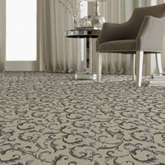 Stanton Carpet, Da Vinci Style, Wall to Wall Carpet with Matching Border & Runner