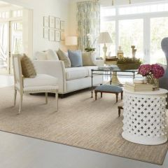 Palermo Lineage Hand Loomed Wool Carpet, Color Canvas, by Antrim
