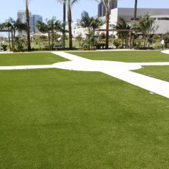 Landscaping with Artificial Grass for commercial areas, Cypress Point Synthetic Grass