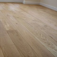 "European White Oak 3/4"" Thick, factory Finish"