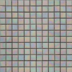 Mediterranean Pearl Mediterranean Glass 3/4x3/4x4MM in 12x12 Mesh