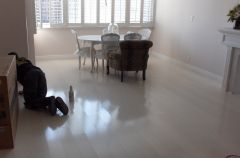 Frosted White Bamboo Flooring
