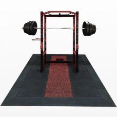 Gym Rubber Tiles, Survivor Sport Flooring Tiles