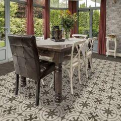 Quartetto Glazed Porcelain Floor Tile, Daltile
