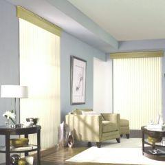 Vertical Blind Room Scene