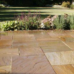 Sandstone installed Exterior (Landscape)