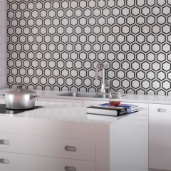 Carrara White Mosaics and Tiles