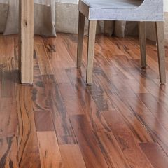 "Exotic Solid Hardwood, Tigerwood (3/4"" Thick, 5-1/2"" Wide) by IndusParquet"