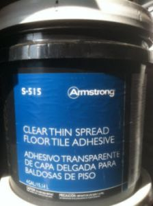 Armstrong S-515 Thin Spread VCT Adhesive