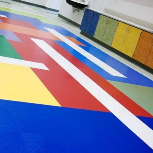 Johnsonite Roundel Rubber Tile Sport