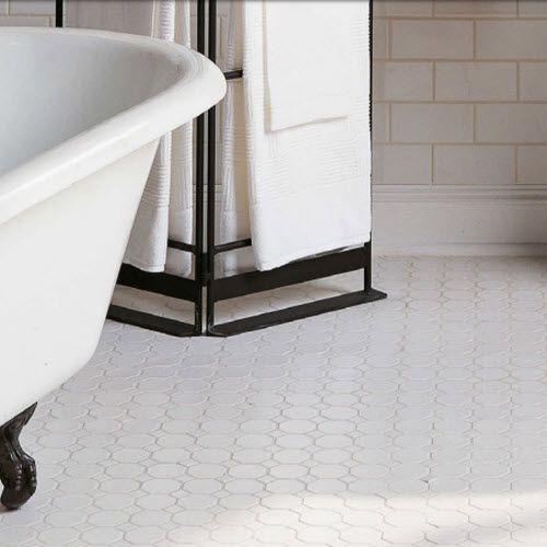 Daltile Octagon Bathroom Tiles
